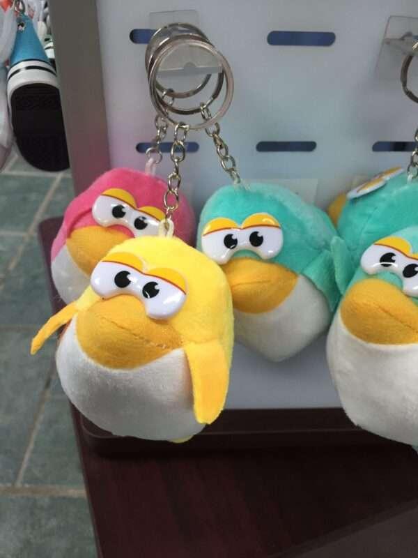 Fancy Penguin Plush Keychain
