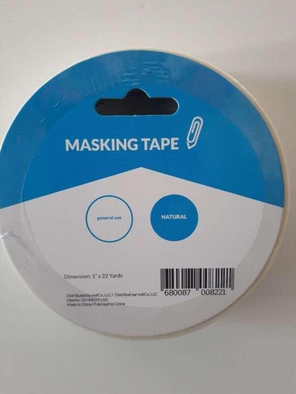"""Masking Tape 1"""" X 22 yards 1PK"""
