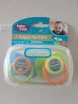 Baby Slogan Pacifiers