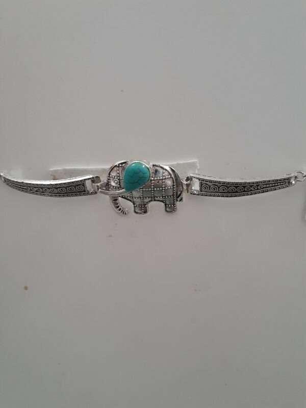 Women Bracelet with Trq. Stone