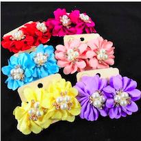 "1.5""_Earring_Fabric_Flower"