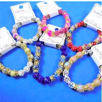 Marble_Glass_Bead_Stretch_Bracelets