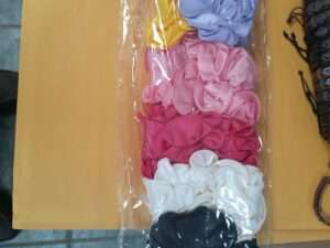 """5"""" Satin Fabric Jaw Clip Bows For $1 each"""