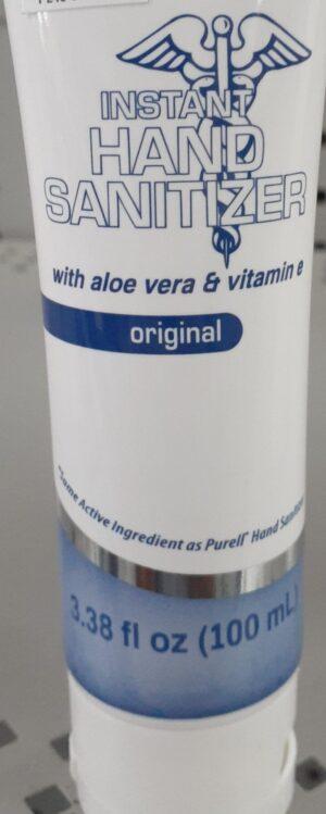 Hand Sanitizer Tube 3 oz