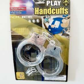 Police Play Handcuffs Toy