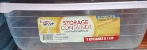 STORAGE CONTAINERS 2PC